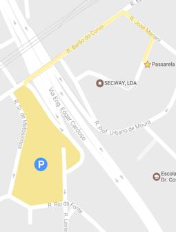 Parque de estacionamento gratuito